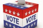 Photo of a ballot box