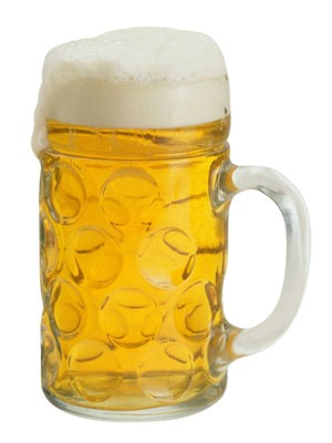 Photo of a mug of beer