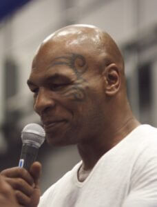 Former heavyweight champion boxer Mike Tyson (Wikipedia Commons)