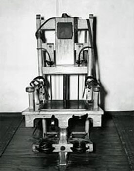 Photo of an electric chair