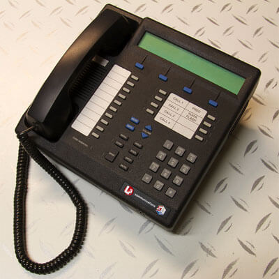 Photo of a telephone
