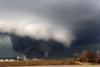 Photo courtesy NIU meteorology professor Walker Ashley