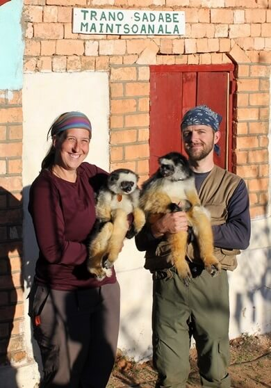 NIU's Karen Samonds and Mitch Irwin helped found Sadabe, an NGO developing innovative ways to promote the healthy coexistence of humans and wildlife in Madagascar.