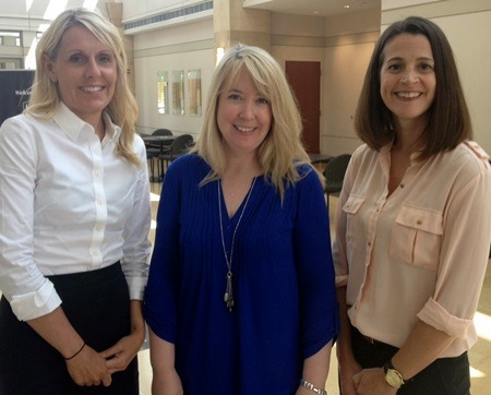 NIU psychology professors (left to right) Michelle Demaray, Christine Malecki and Julia Ogg will oversee Project Prevent and Address Bullying.
