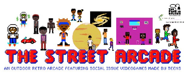 The Street Arcade: An Outdoor Retro Arcade Featuring Social Issue Videogames Made By Teens