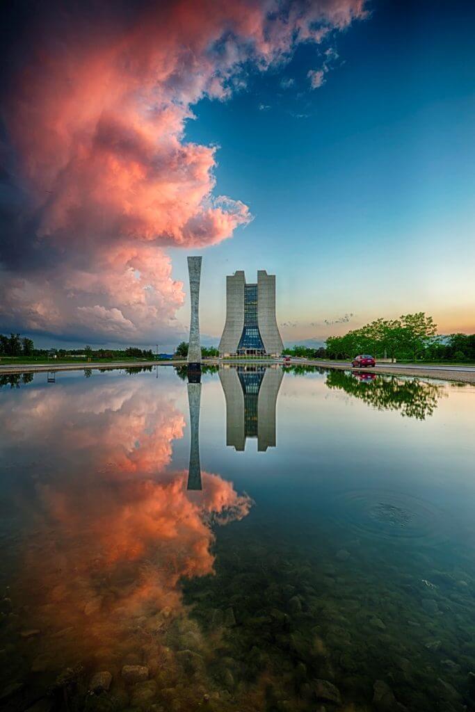 Fermilab's iconic Wilson Hall. Credit: Reidar Hahn, Fermilab