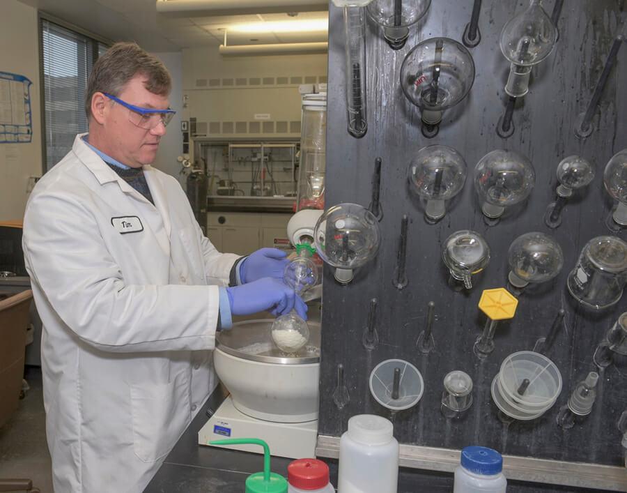 Chemistry professor Timothy Hagen