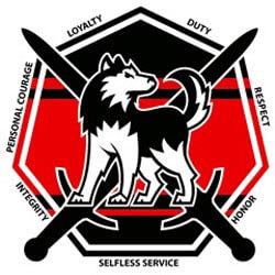 NIU Huskie Battalion logo