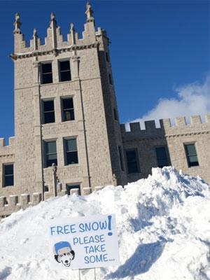Snowy Altgeld Hall