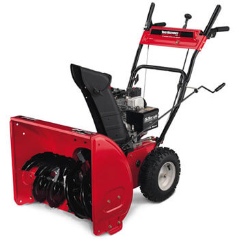 Photo of a snowblower