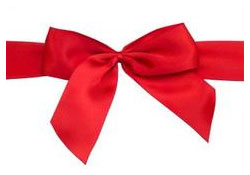 Photo of a red ribbon