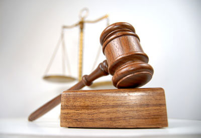 Photo of a gavel and the scales of justice