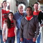 Jay Leno and the NIU Supermileage Team
