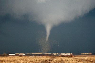 Photo courtesy NIU meteorology professor Walker Ashley