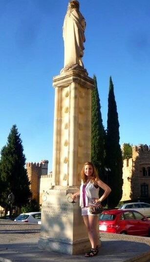 Studying abroad in Toledo, Spain.