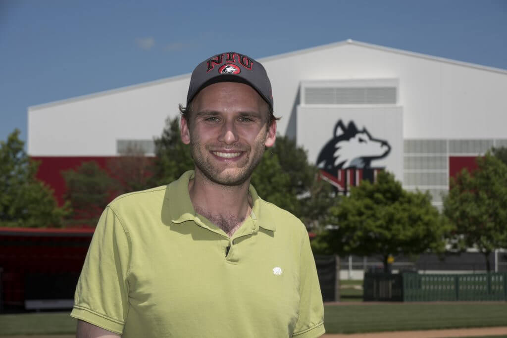 NIU Physicicist and baseball fan Jahred Adelman