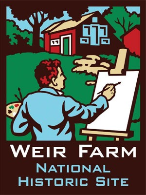 Weir Farm National Historic Site postcard