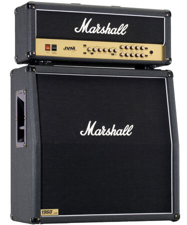 Photo of a Marshall stack
