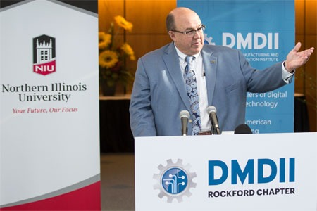 Dean L. Bartles, chief manufacturing officer for UI LABS and executive director of DMDII