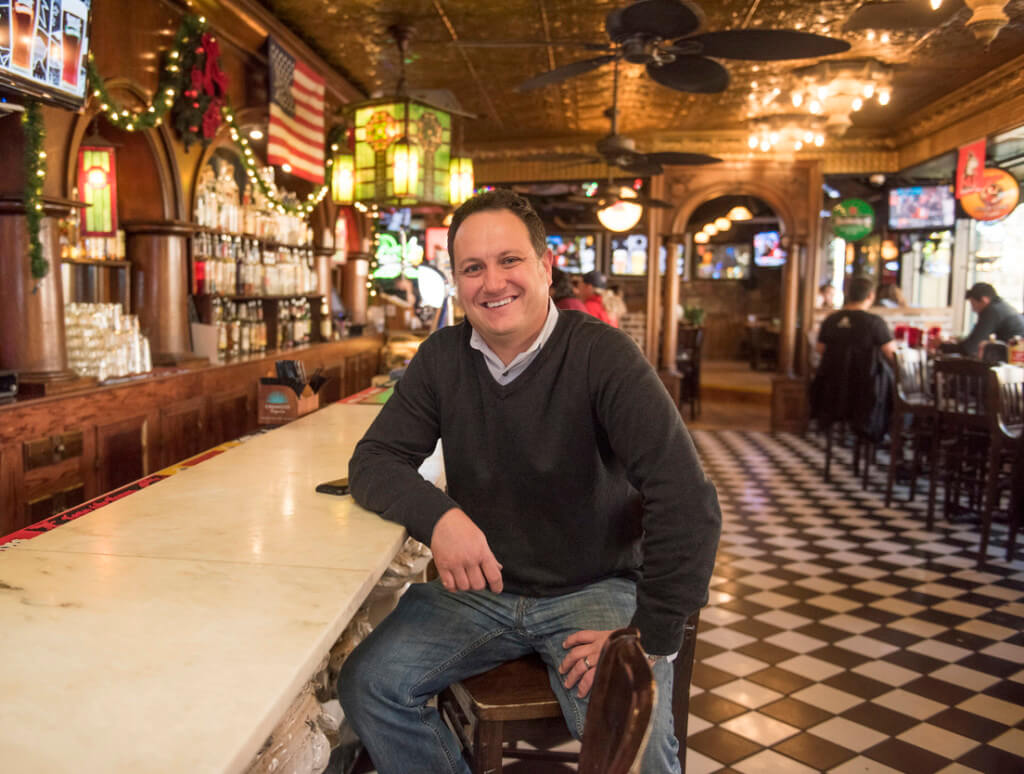 Jeff Dobie, owner of Fatty's Pub and Grille.