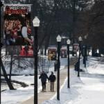Snowy NIU campus
