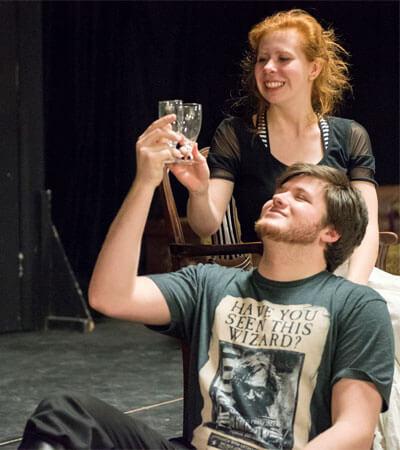 Corinne Gahan and Luke Stevens