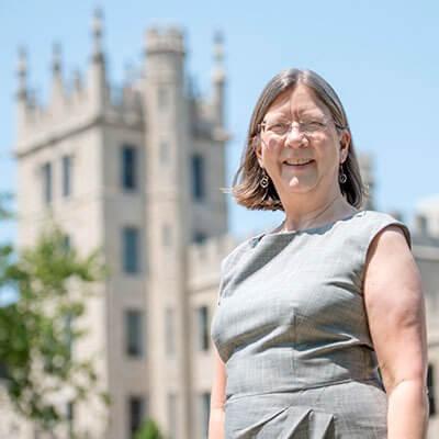 Provost Beth Ingram